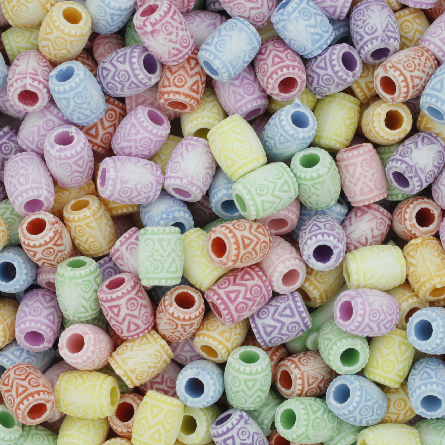 Miçanga Infantil - Tambor Colorido  - Stéphanie Bijoux® - Peças para Bijuterias e Artesanato