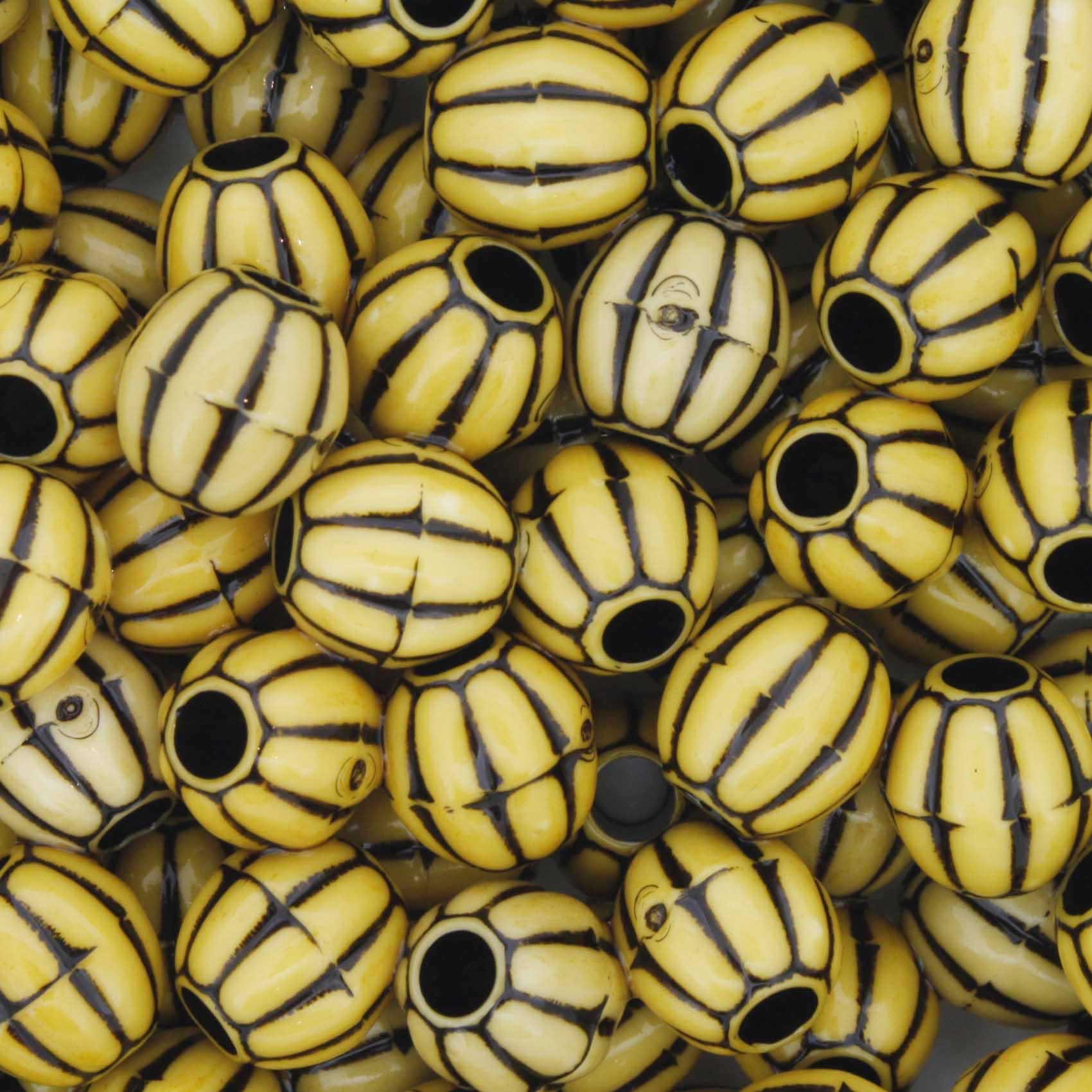 Miçanga Pesca - Carambola Amarela  - Stéphanie Bijoux® - Peças para Bijuterias e Artesanato