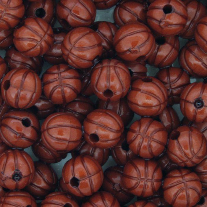 Miçanga Pesca - Mini Basquete Vermelha  - Stéphanie Bijoux® - Peças para Bijuterias e Artesanato