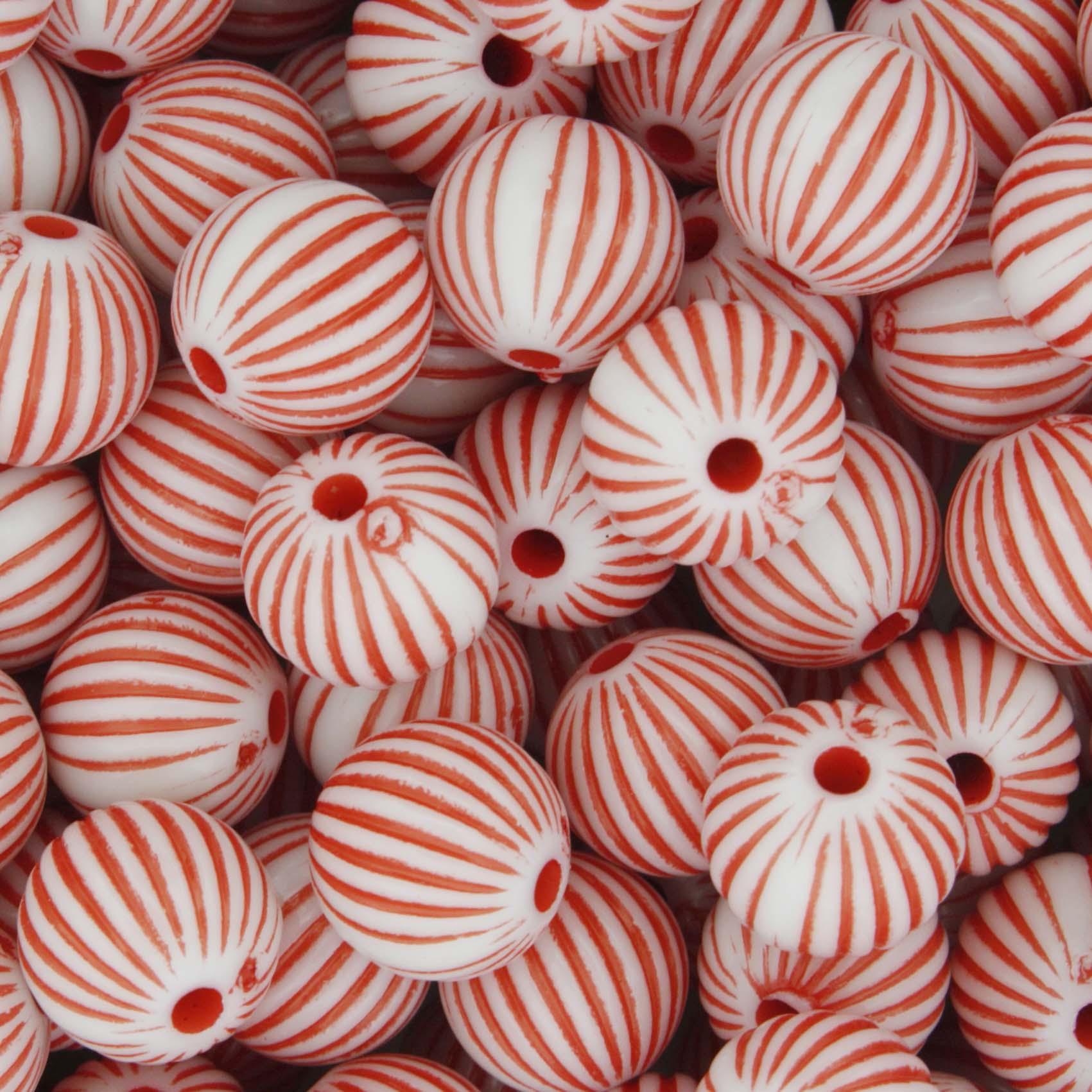 Miçanga Pesca - Sorocaba Branca e Vermelha  - Stéphanie Bijoux® - Peças para Bijuterias e Artesanato