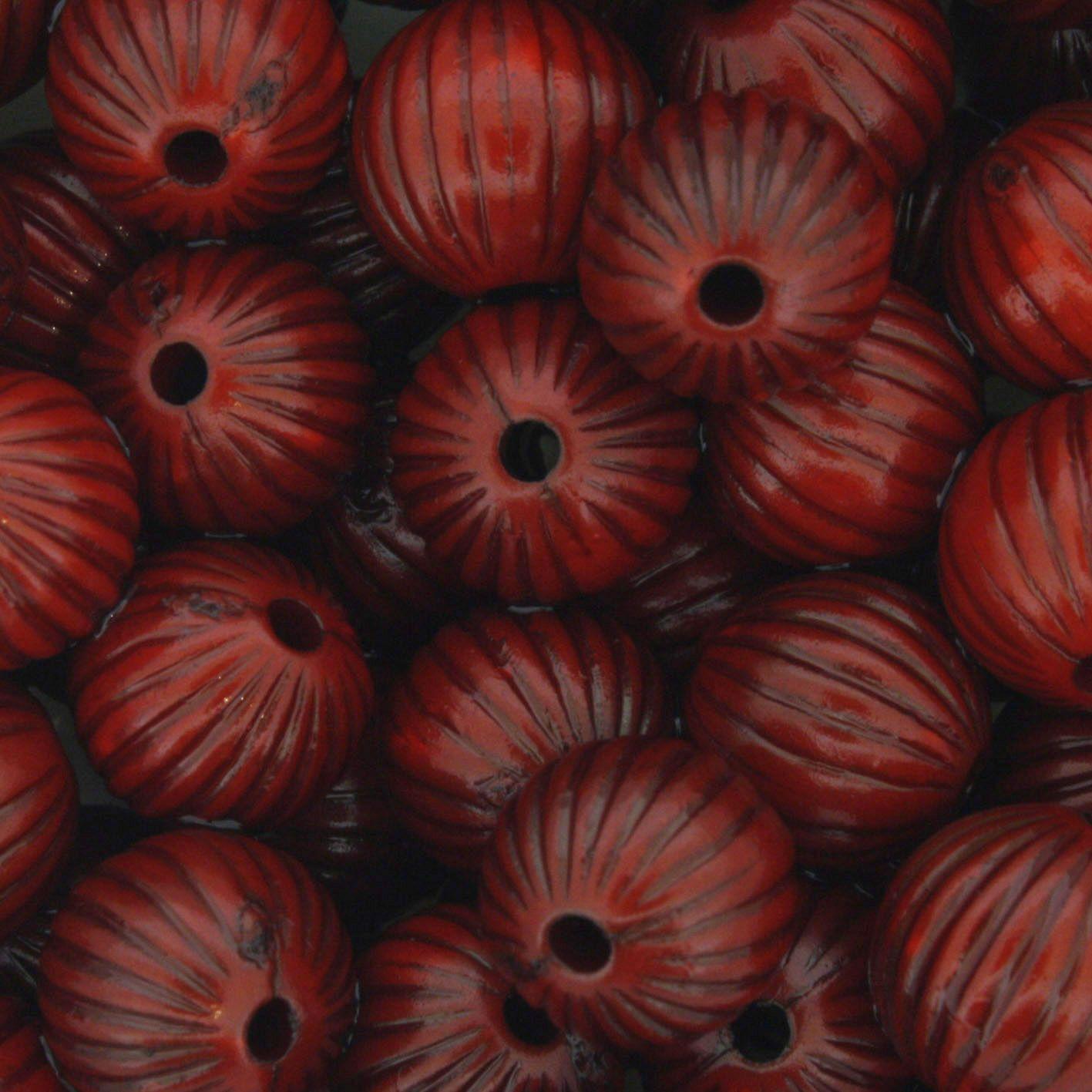 Miçanga Pesca - Sorocaba FP Vermelha  - Stéphanie Bijoux® - Peças para Bijuterias e Artesanato