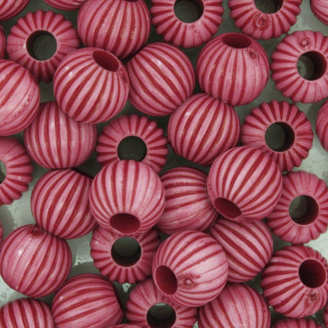 Miçanga Pesca - Sorocaba Rosa  - Stéphanie Bijoux® - Peças para Bijuterias e Artesanato