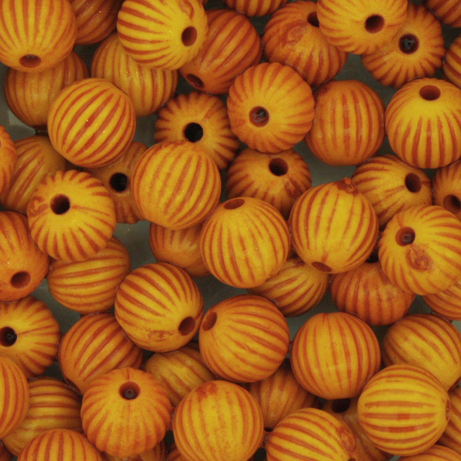 Miçanga Pesca - Sorocabinha Laranja  - Stéphanie Bijoux® - Peças para Bijuterias e Artesanato