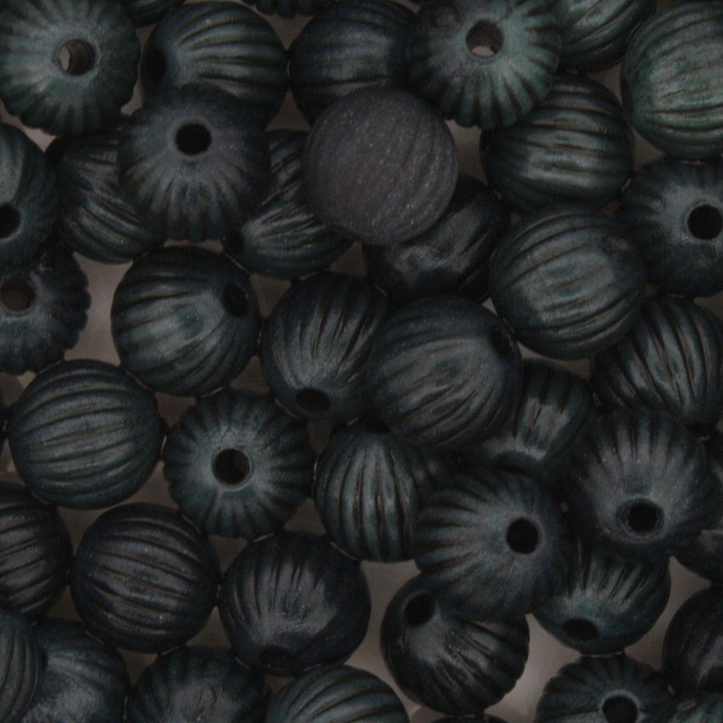 Miçanga Pesca - Sorocabinha Verde Escuro  - Stéphanie Bijoux® - Peças para Bijuterias e Artesanato