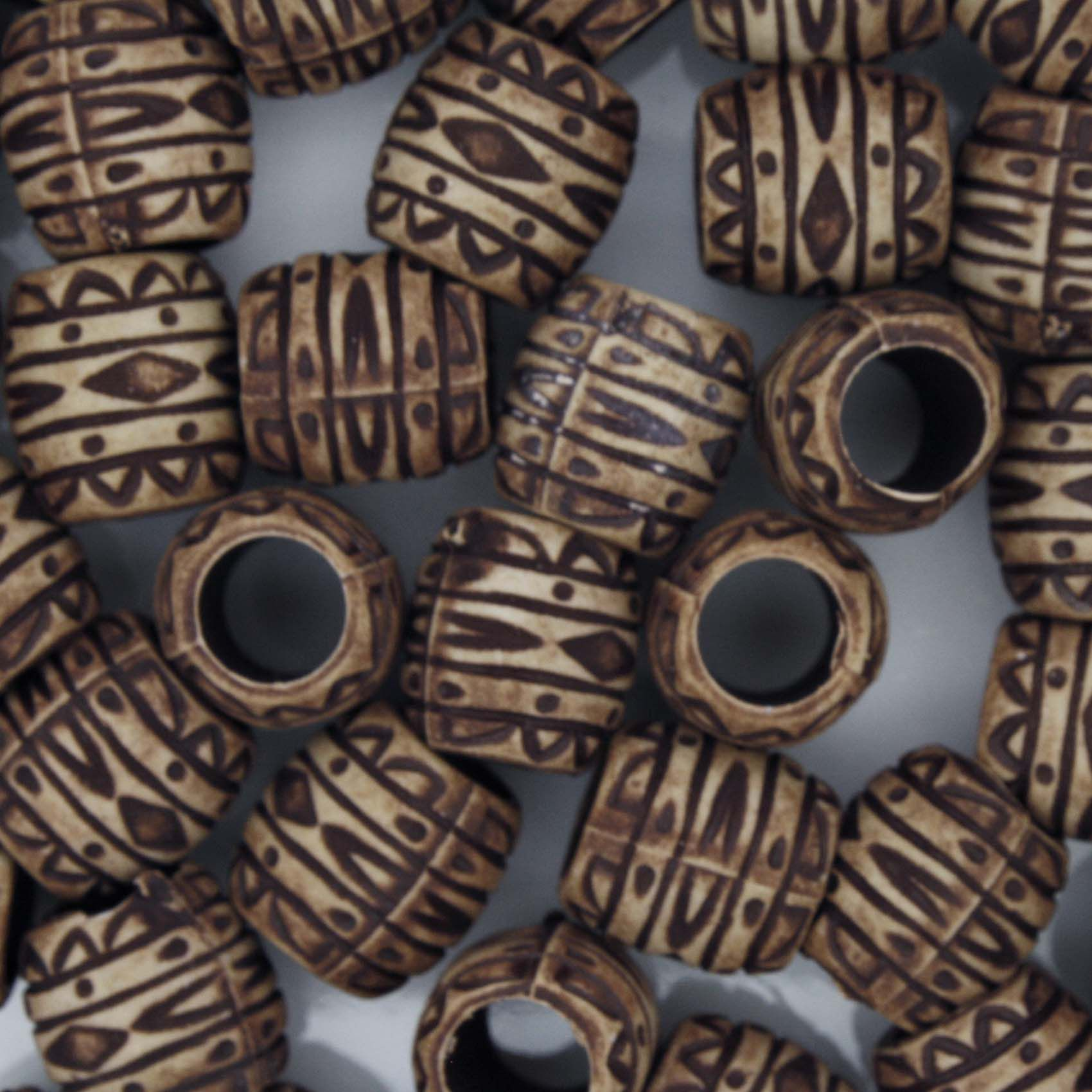Miçanga Pesca - Tambor Chocolate  - Stéphanie Bijoux® - Peças para Bijuterias e Artesanato