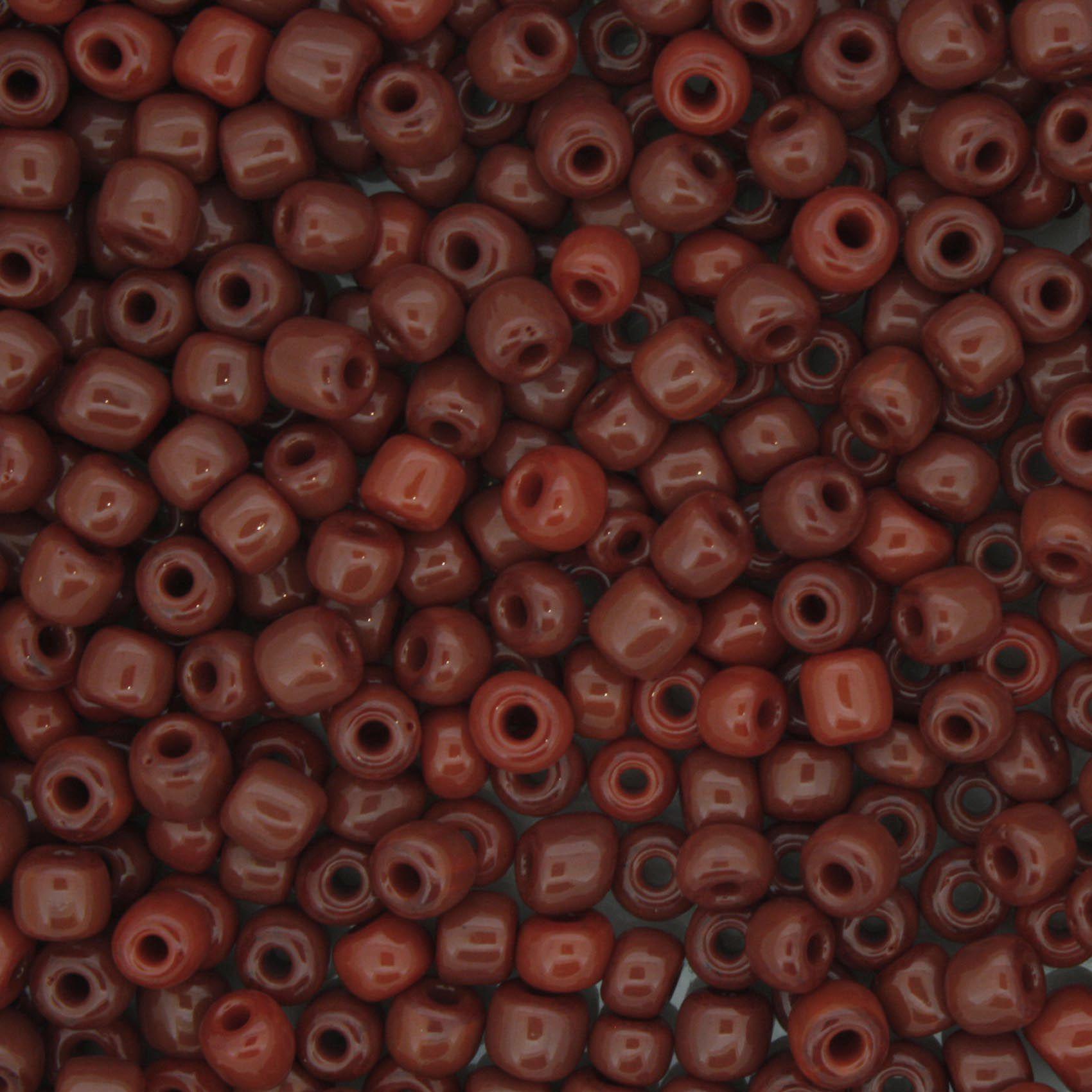 Miçanga - Vermelha Escura - 6/0 [4x3mm]  - Stéphanie Bijoux® - Peças para Bijuterias e Artesanato