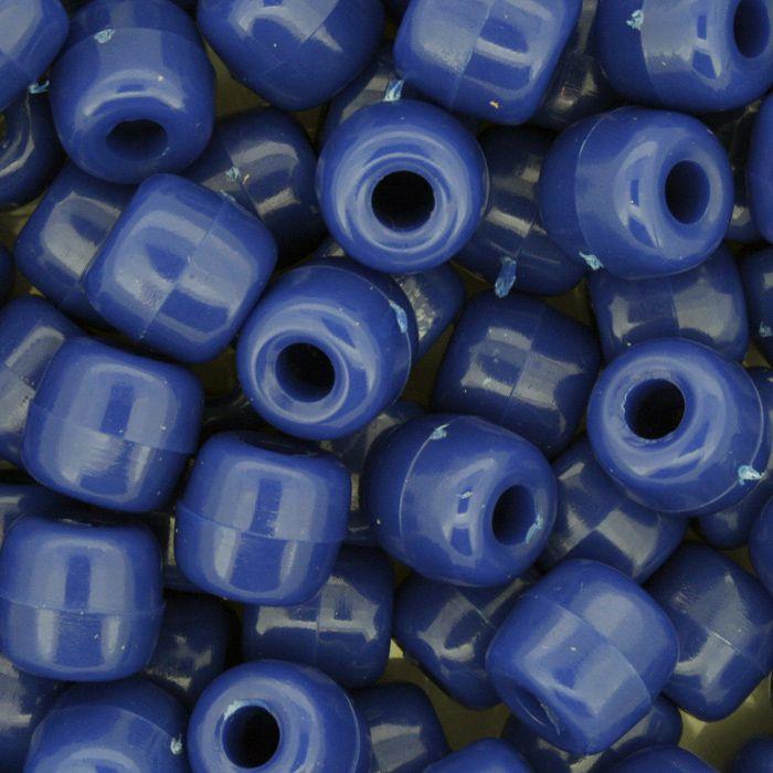 Miçangão Plástico - Tererê® - Azul  - Stéphanie Bijoux® - Peças para Bijuterias e Artesanato