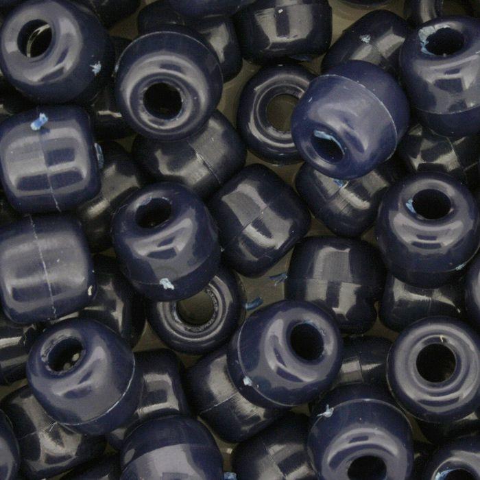 Miçangão Plástico - Tererê® - Azul Escuro  - Stéphanie Bijoux® - Peças para Bijuterias e Artesanato