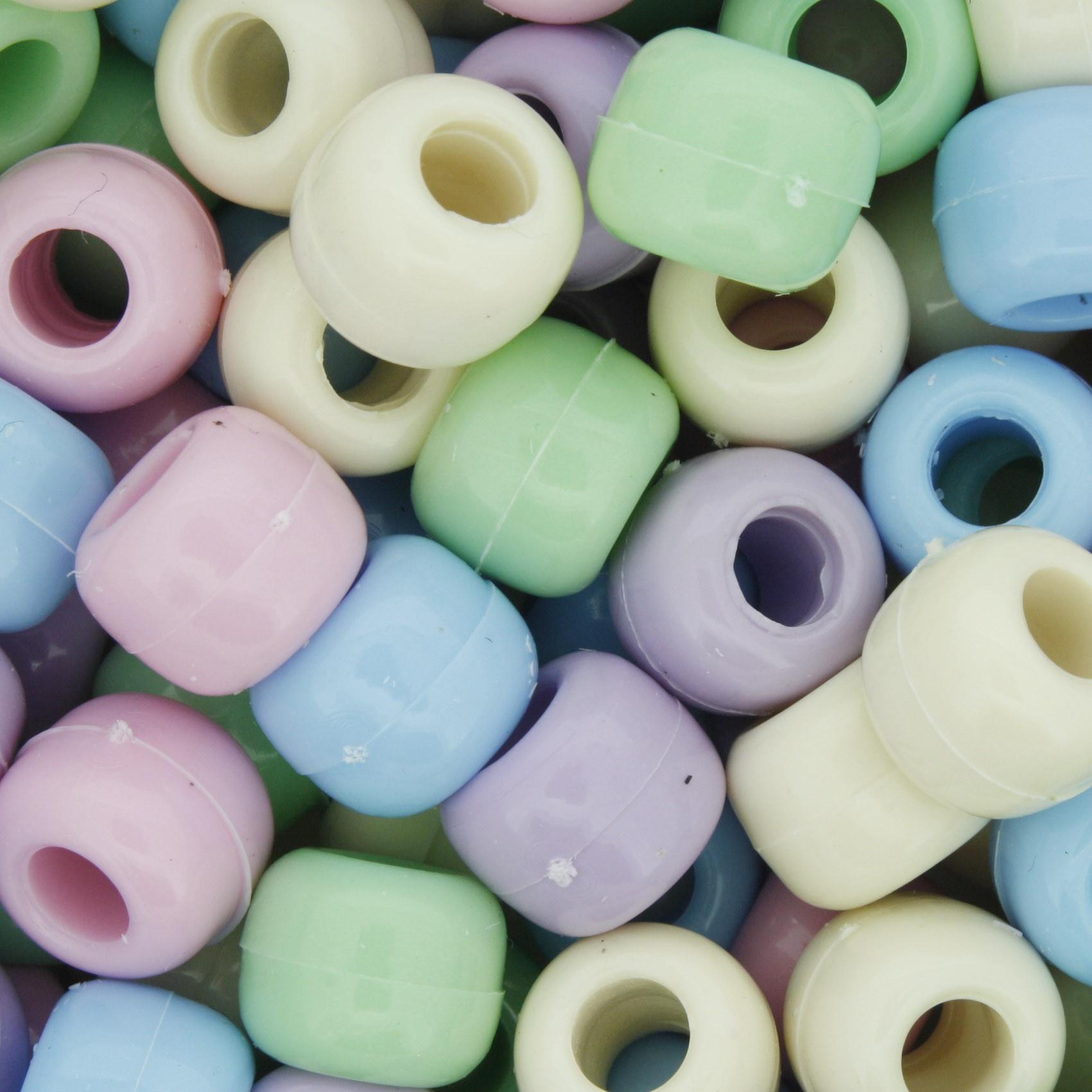 Miçangão Plástico - Tererê® - Candy Colors  - Stéphanie Bijoux® - Peças para Bijuterias e Artesanato