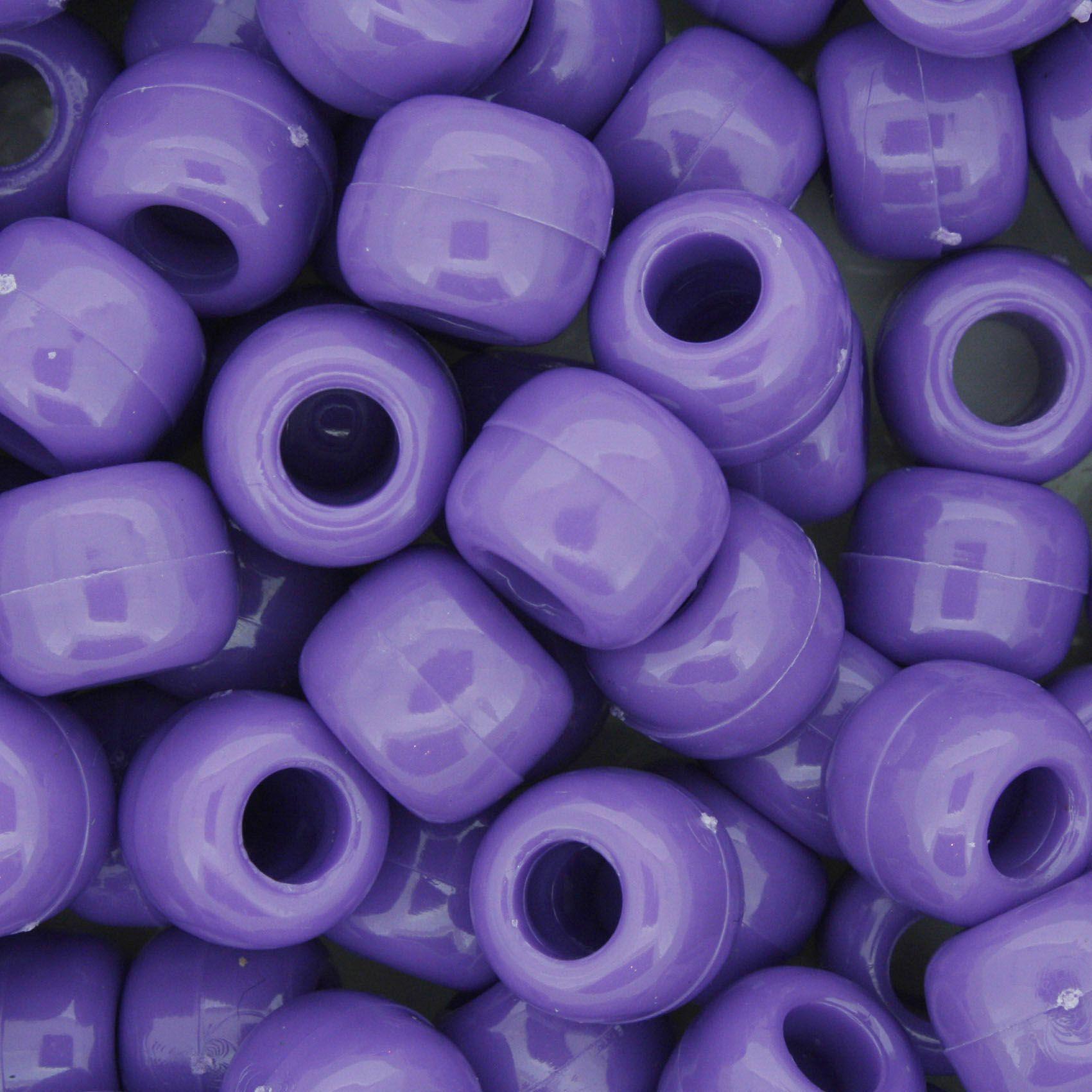 Miçangão Plástico - Tererê® - Roxo  - Stéphanie Bijoux® - Peças para Bijuterias e Artesanato