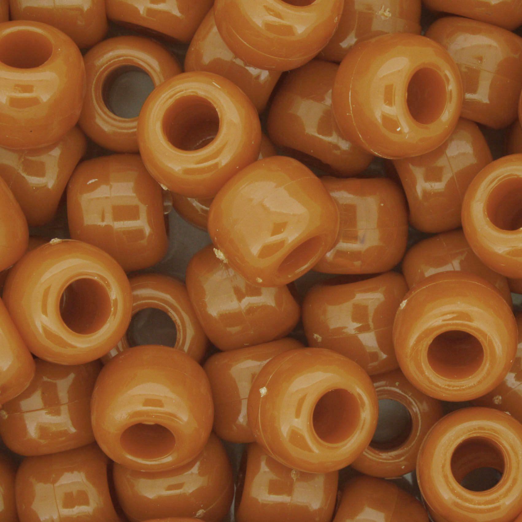 Miçangão Plástico - Tererê® - Terracota  - Stéphanie Bijoux® - Peças para Bijuterias e Artesanato