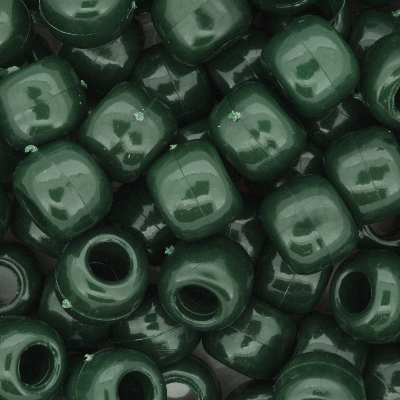 Miçangão Plástico - Tererê® - Verde  - Stéphanie Bijoux® - Peças para Bijuterias e Artesanato