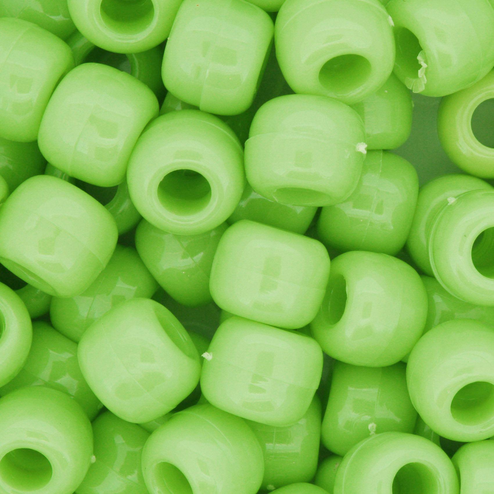 Miçangão Plástico - Tererê® - Verde Neon  - Stéphanie Bijoux® - Peças para Bijuterias e Artesanato