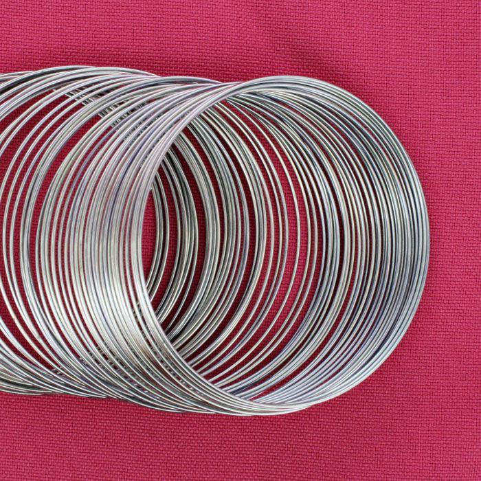 Mola p/ Pulseira - Níquel - 60mm  - Stéphanie Bijoux® - Peças para Bijuterias e Artesanato