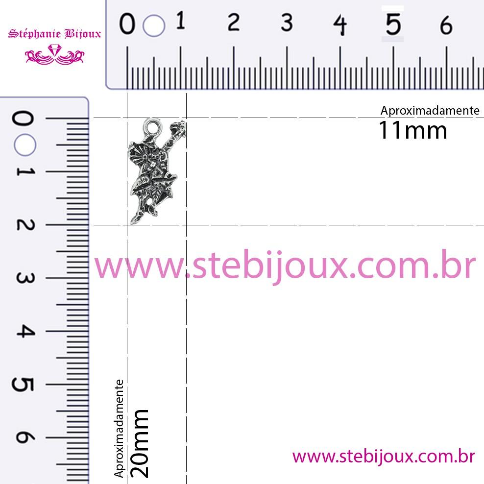 Ossain - Níquel Velho - 20mm  - Stéphanie Bijoux® - Peças para Bijuterias e Artesanato