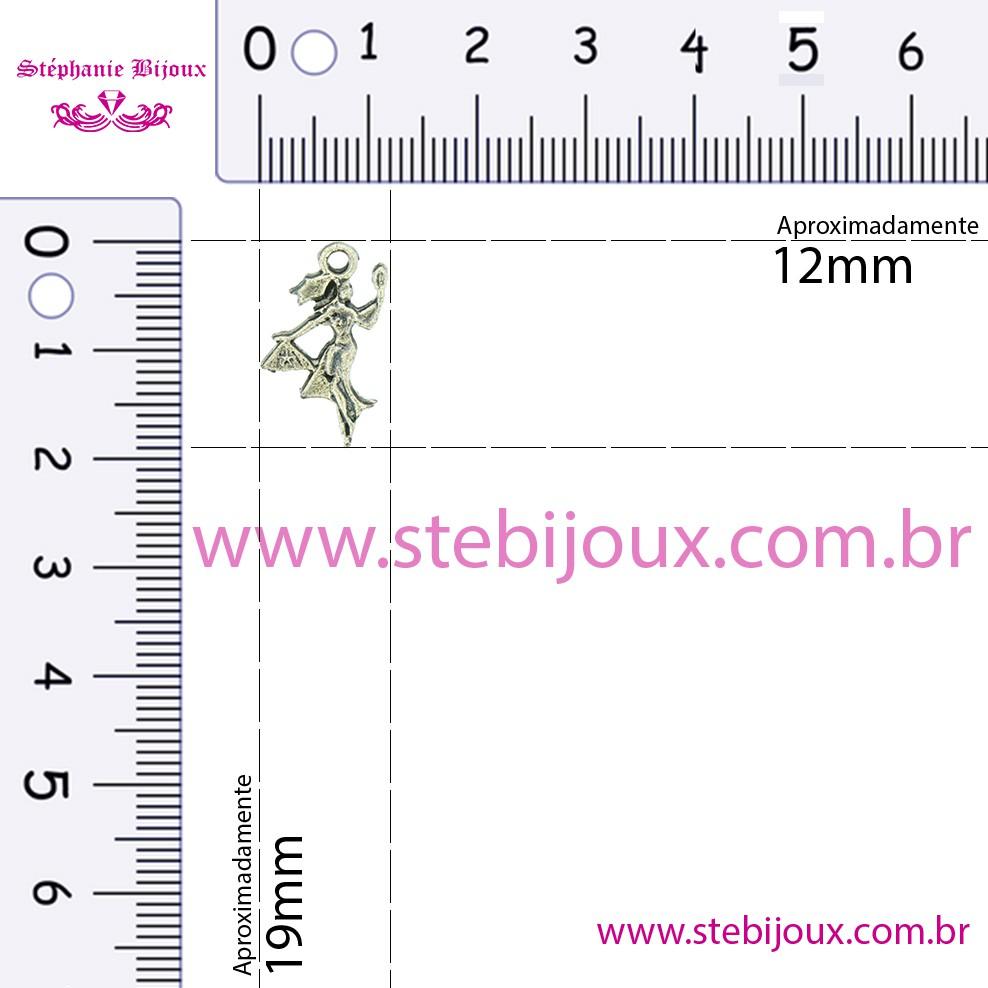 Oxum - Latão Velho - 19mm  - Stéphanie Bijoux® - Peças para Bijuterias e Artesanato