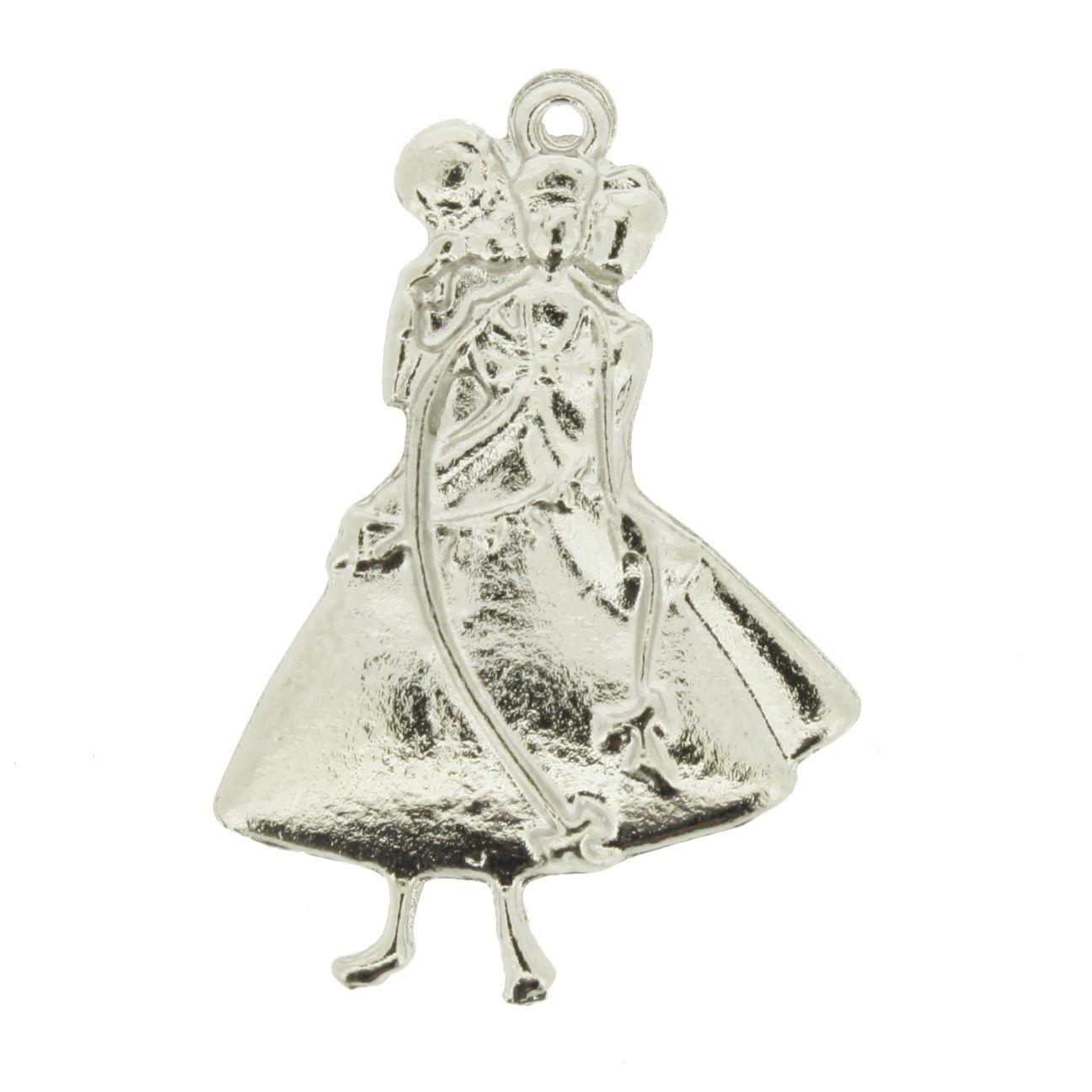 Oxum - Níquel - 32mm - 01 Peça  - Stéphanie Bijoux® - Peças para Bijuterias e Artesanato