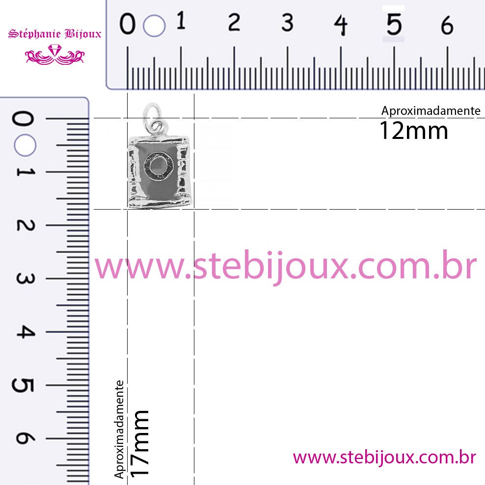 Pingente Chakra - Frontal  - Stéphanie Bijoux® - Peças para Bijuterias e Artesanato