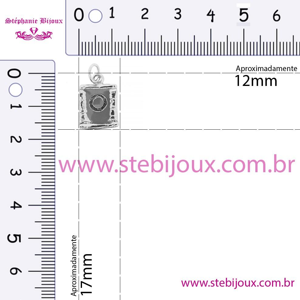 Pingente Chakra - Umbilical  - Stéphanie Bijoux® - Peças para Bijuterias e Artesanato