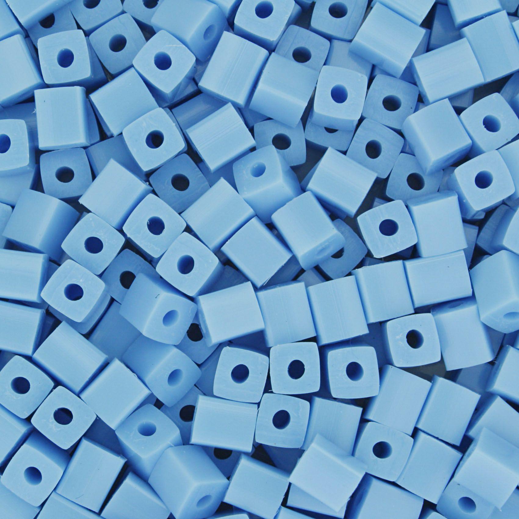 Quadradinho - Azul Claro - 5mm  - Stéphanie Bijoux® - Peças para Bijuterias e Artesanato