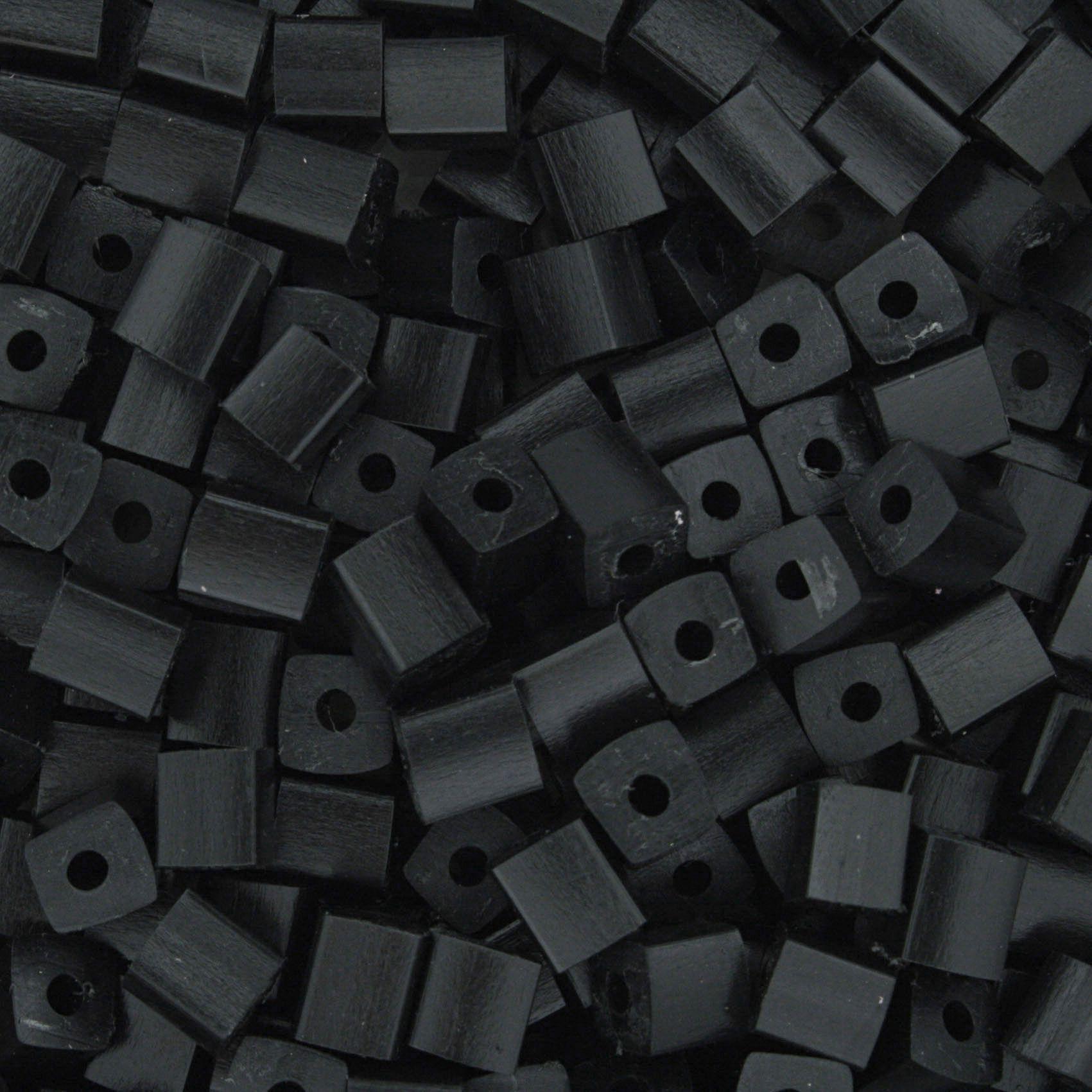 Quadradinho - Preto - 5mm  - Stéphanie Bijoux® - Peças para Bijuterias e Artesanato