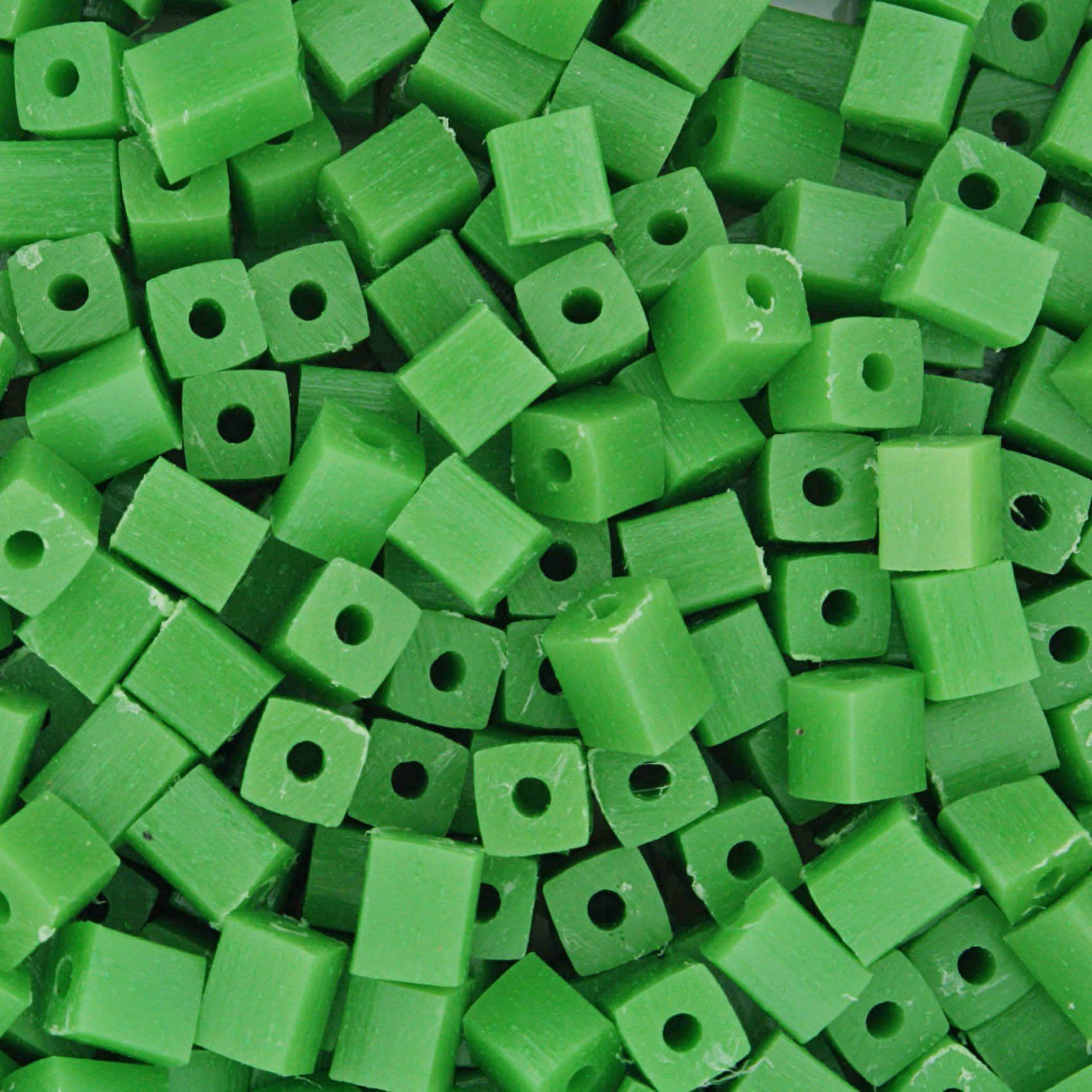 Quadradinho - Verde - 5mm  - Stéphanie Bijoux® - Peças para Bijuterias e Artesanato