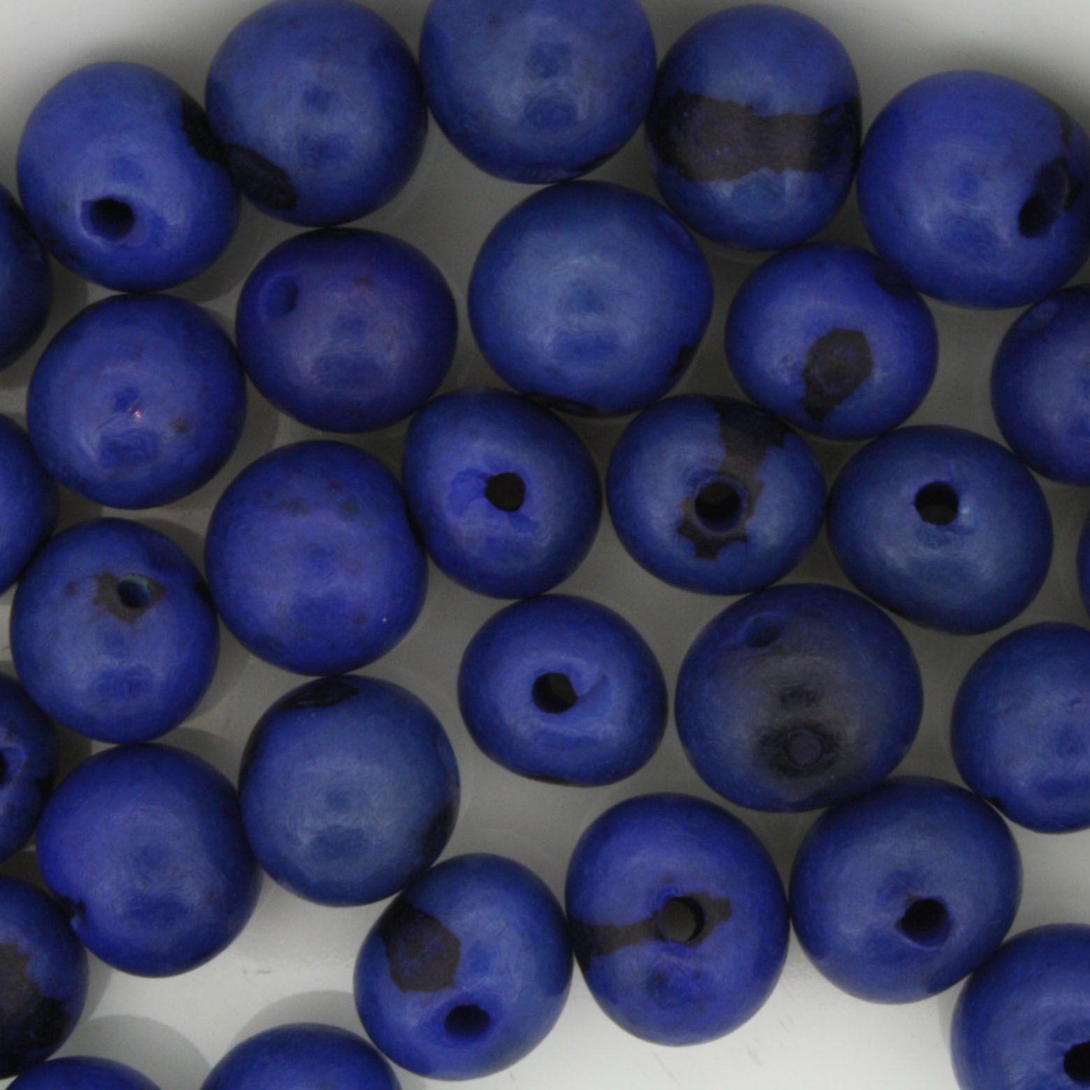 Semente de Açai - Azul  - Stéphanie Bijoux® - Peças para Bijuterias e Artesanato