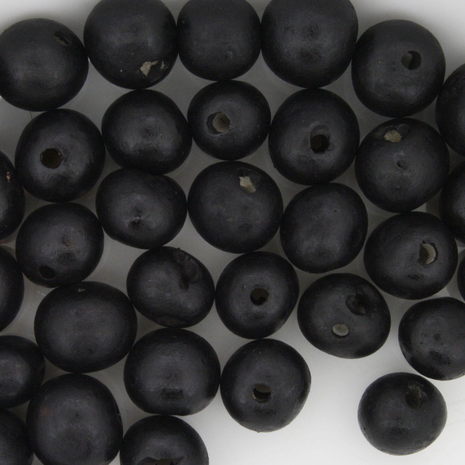 Semente de Açai - Preta  - Stéphanie Bijoux® - Peças para Bijuterias e Artesanato