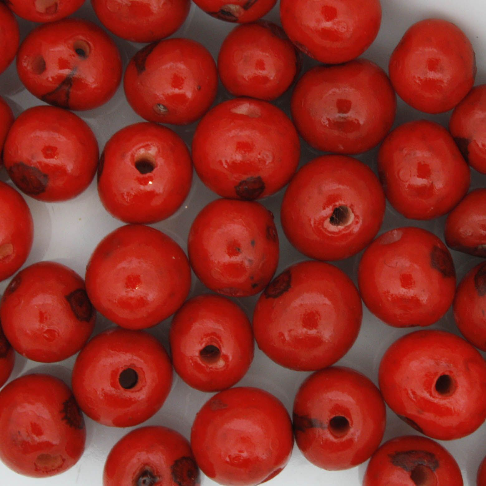 Semente de Açai - Vermelha  - Stéphanie Bijoux® - Peças para Bijuterias e Artesanato
