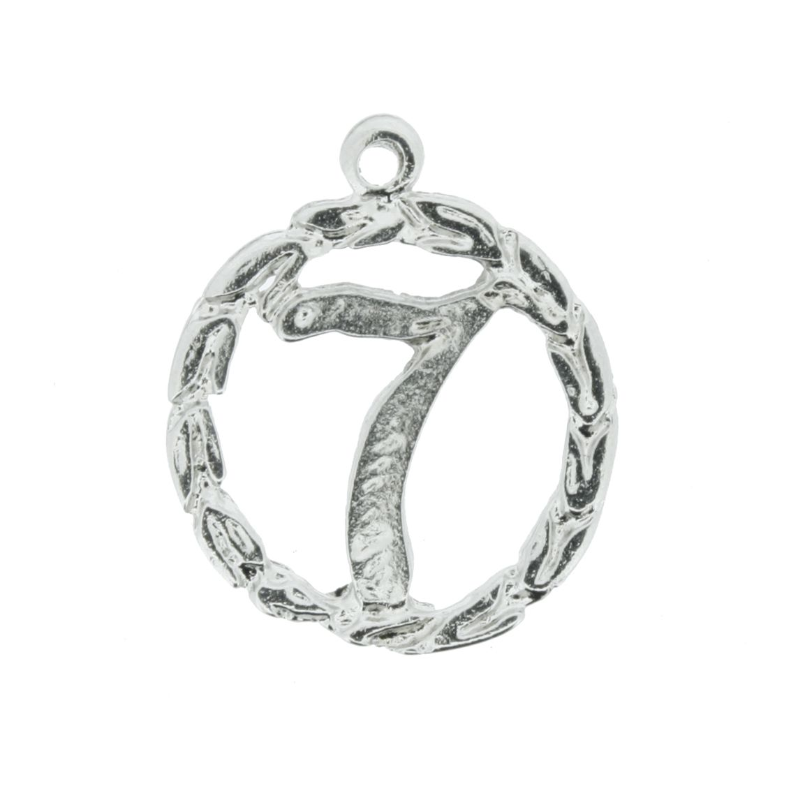 Sete - Níquel - 22mm  - Stéphanie Bijoux® - Peças para Bijuterias e Artesanato