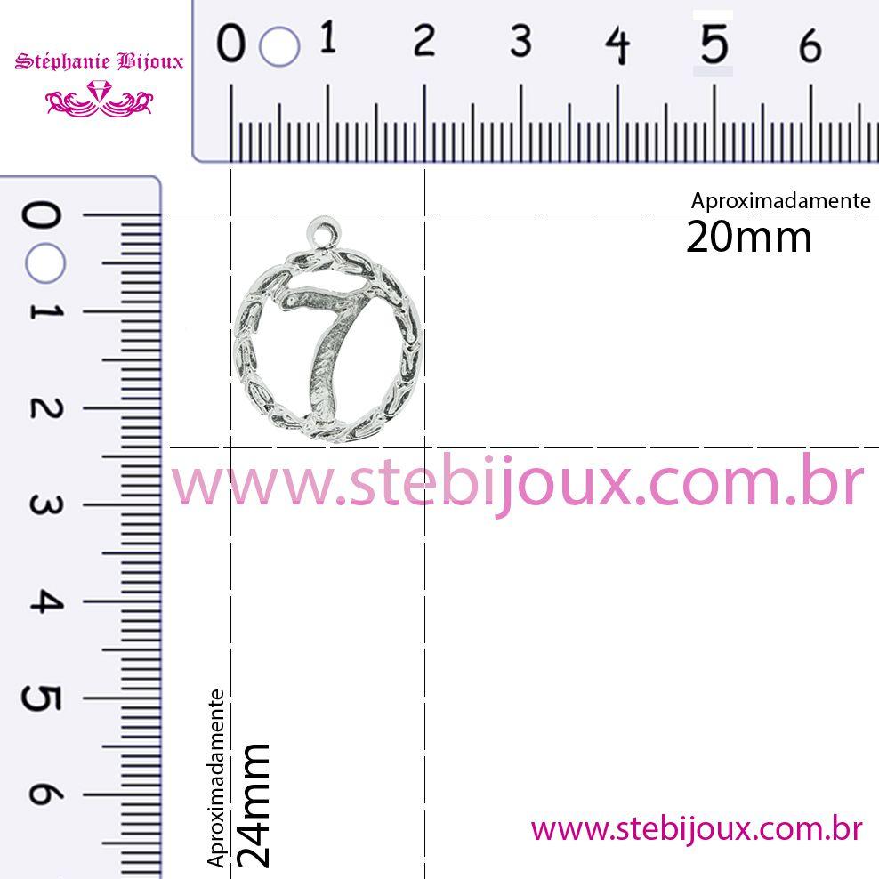 Sete - Ouro Velho - 22mm  - Stéphanie Bijoux® - Peças para Bijuterias e Artesanato