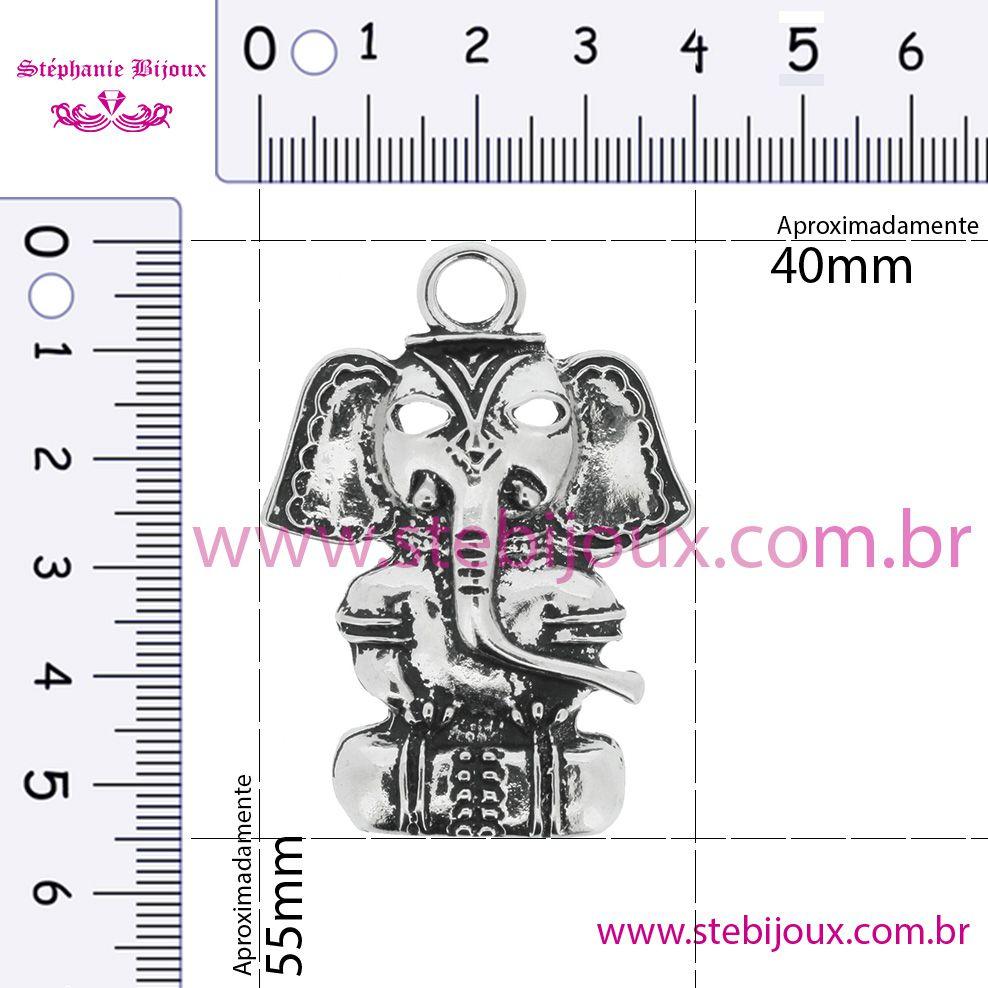 Shiva - Níquel Velho - 55mm  - Stéphanie Bijoux® - Peças para Bijuterias e Artesanato