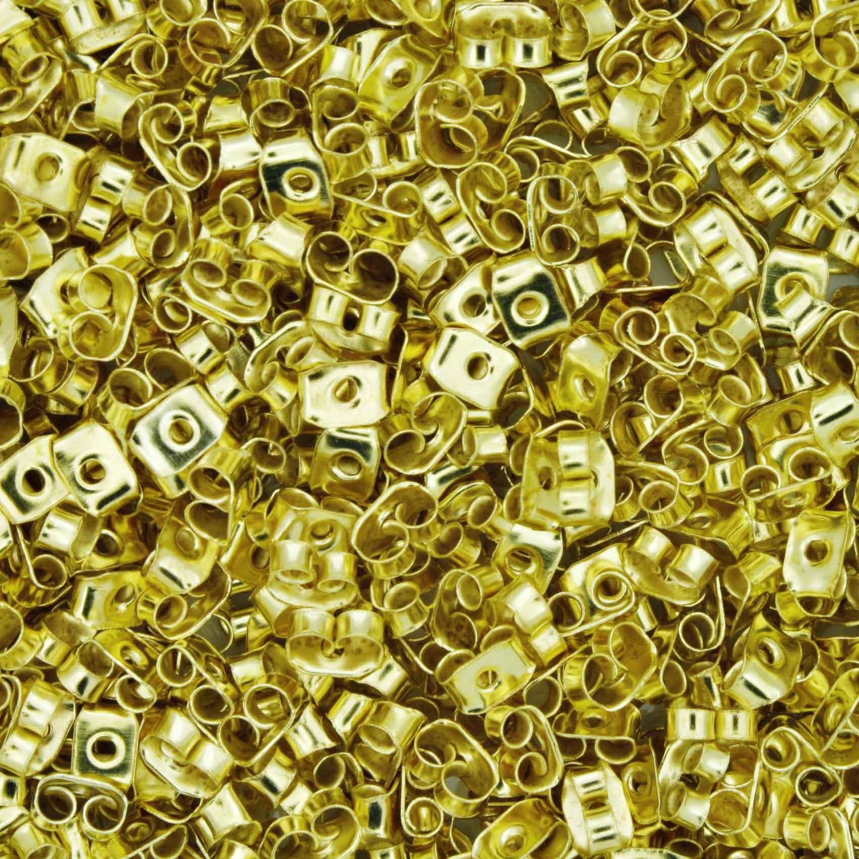 Tarraxa Borboleta - Dourada  - Stéphanie Bijoux® - Peças para Bijuterias e Artesanato