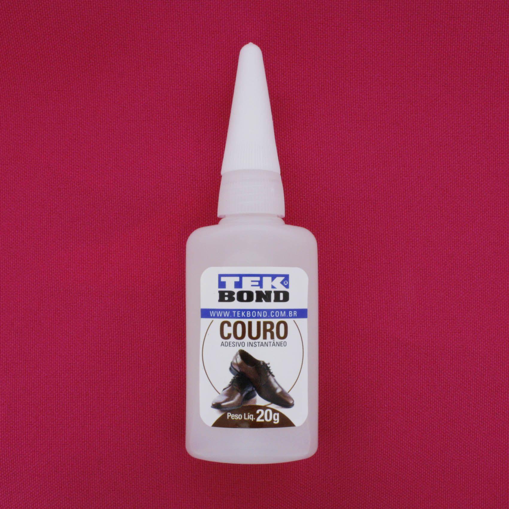 TekBond® Couro - Adesivo Instantâneo - 20g   - Stéphanie Bijoux® - Peças para Bijuterias e Artesanato