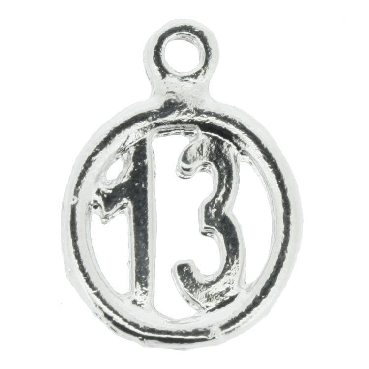 Treze - Níquel - 19mm  - Stéphanie Bijoux® - Peças para Bijuterias e Artesanato