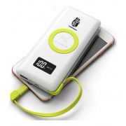 Carregador Power Bank 10000mah Pineng Pn-888 Qi Charge