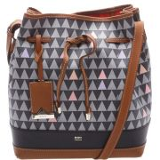 Bolsa Schutz Bucket Bag Emili Triangle Black