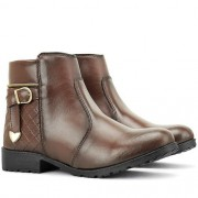 Bota Coturno Cano Curto DUBUY CR Shoes Nº 37