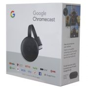 Chromecast 3 Google Full HD Wireless Hdmi Preto