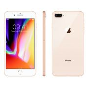 Iphone 8 Plus Apple 256GB IOS 11 A1905 Tela de 5.5 Gold