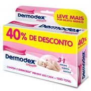Kit 2 Pomadas Dermodex Prevent 3em1 60g cada
