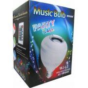 Lâmpada Led Music Bulb Bluetooth Com Controle Remoto