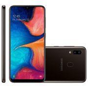 Samsung Galaxy A20 3GB RAM 32GB Preto - 13MP + 5MP