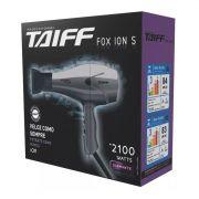 Secador de Cabelos Taiff Fox Íon 2100W  220 Vlts Cinza