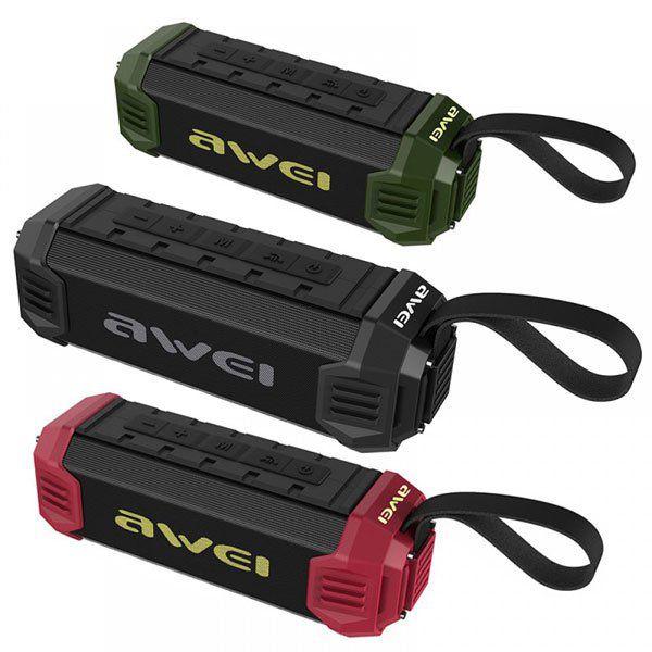 Caixa Bluetooth  Awei Y280 A Prova D'água E Anti Impacto