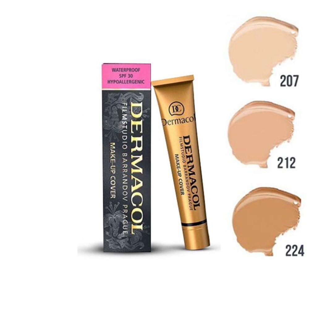 Base Facial Dermacol  Make Up Cover 30 grs.