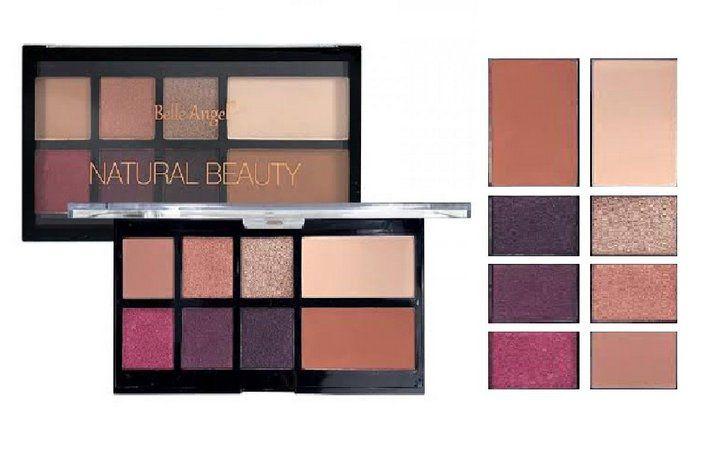 Paleta de Sombras e Contorno Belle Angel Natural Beauty T012