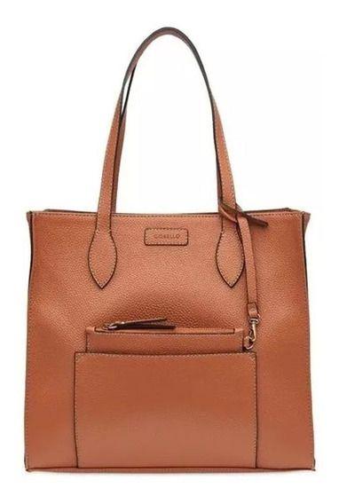 Bolsa Corello Shopping Bag Bianca Eco Caramelo