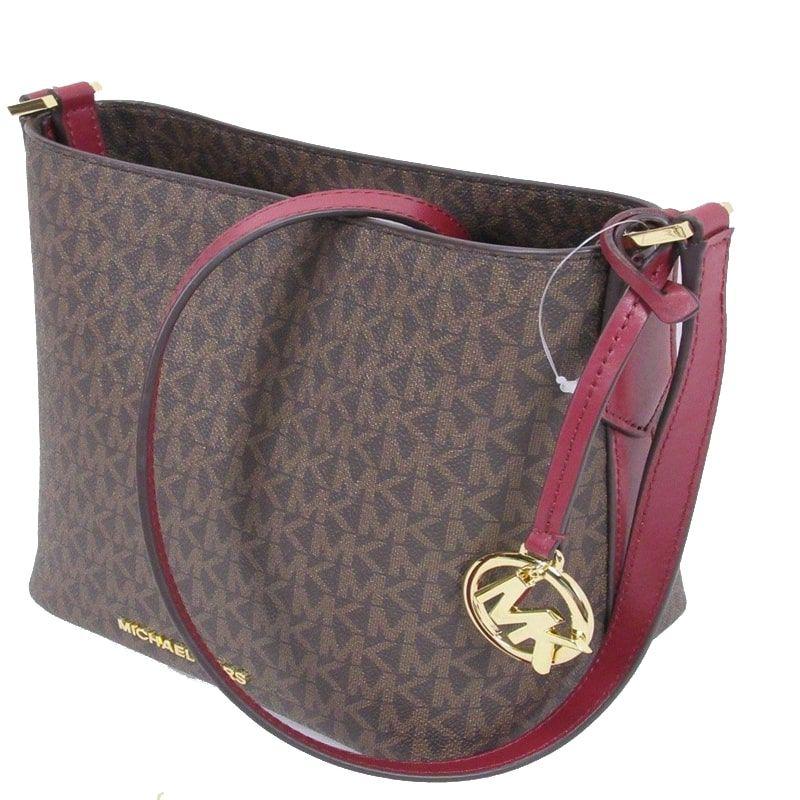 953ff4a5d Bolsa Michael Kors Coleção Kimberly Bucket Bag Mulbry- Marron