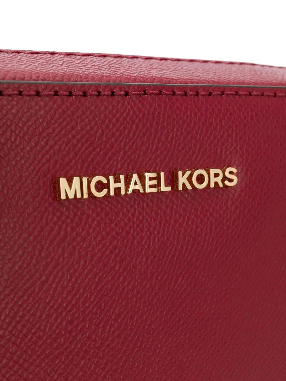 Bolsa Michael Kors Crossbodies Transversal East West Vinho - Vermelha